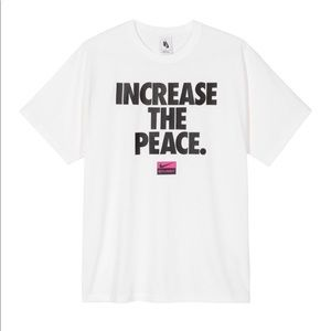 Nike x Stussy Increase The Peace Tee